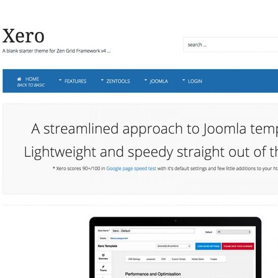JB Xero Joomla Template