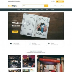 JSN BookStore Joomla Template