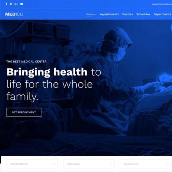 Medico Joomla Template