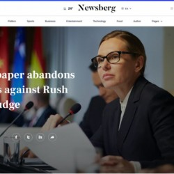 Newsberg Joomla Template