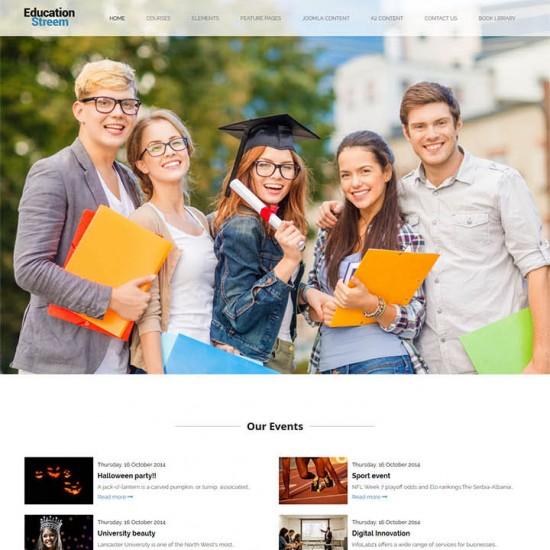 OrdaSoft EducationStreem Jomla Template