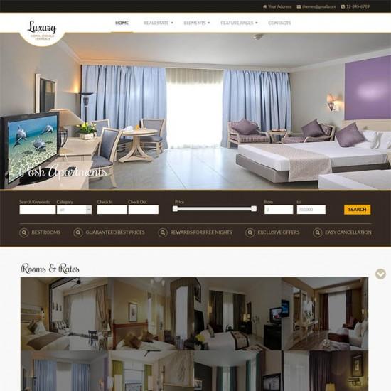 OrdaSoft Luxury Joomla Template