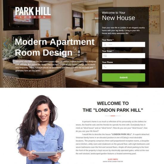 OrdaSoft ParkHill Joomla Template