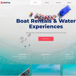 Rental Joomla Template