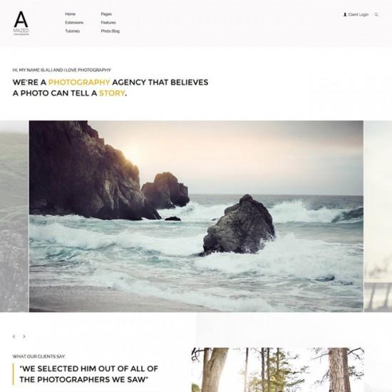 S5 Amazed Photography Joomla Template