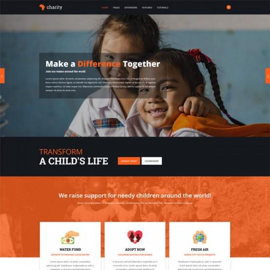 S5 Charity Joomla Template