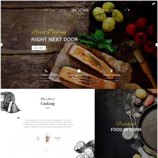 S5 Fresh Bistro Joomla Template