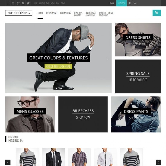 S5 No1 Shopping Joomla Template