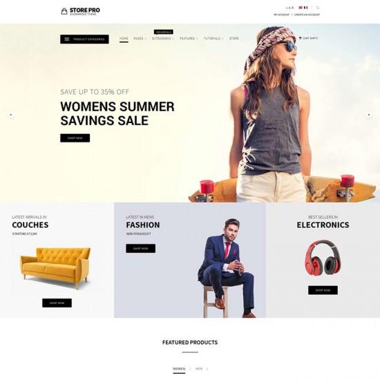 S5 Store Pro Joomla Template