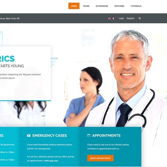 S5 Health Guide Joomla Template