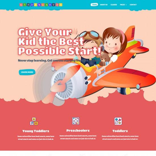 ThemeXpert Kindergarten Joomla Template
