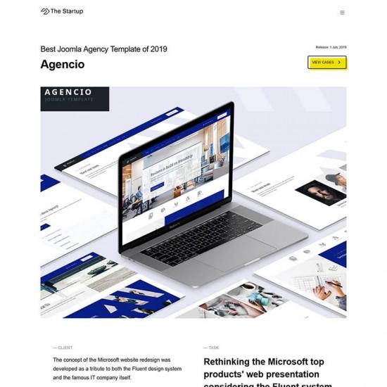 ThemeXpert Startup Joomla Template