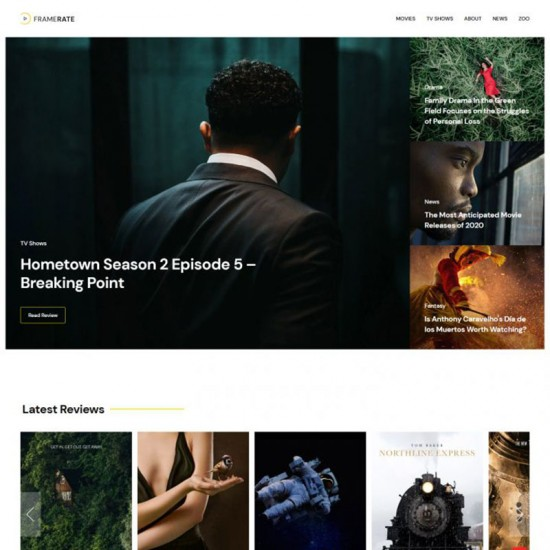 YOOtheme Framerate Joomla Template