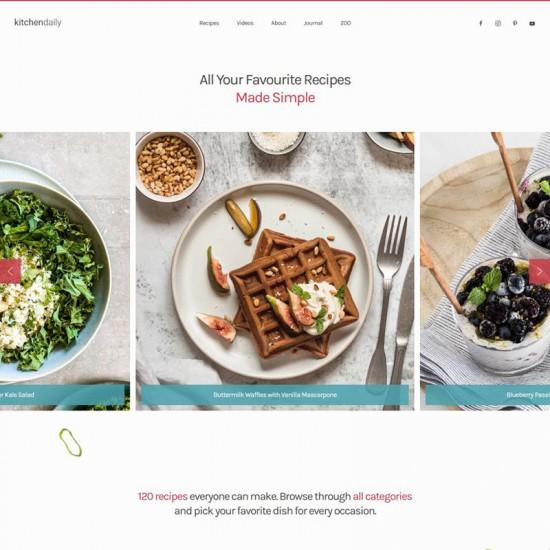 YOOtheme Kitchen Daily Joomla Template