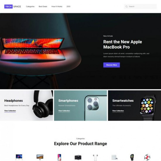 YOOtheme Tech Space Joomla Template