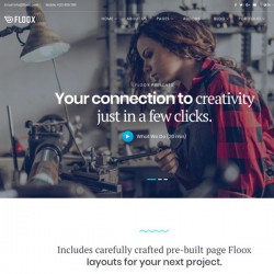 Floox Joomla Template