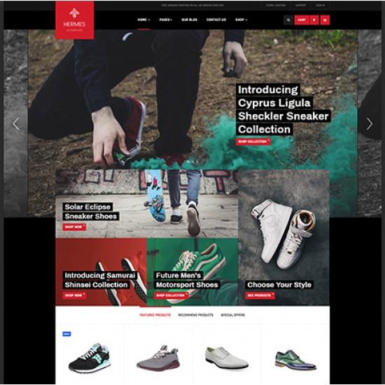 JA Shoe Store Joomla Template