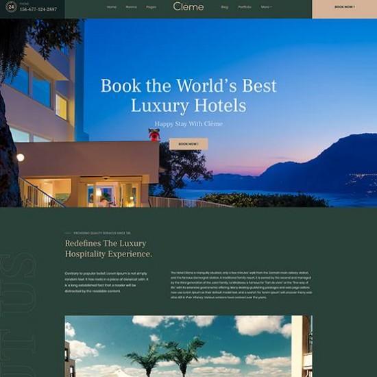 JA Resort Joomla Template