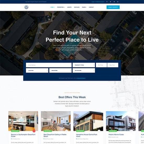 JA Property Joomla Template
