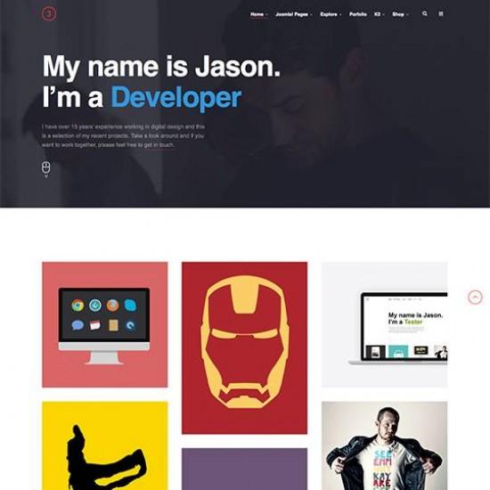 JA Jason Joomla Template