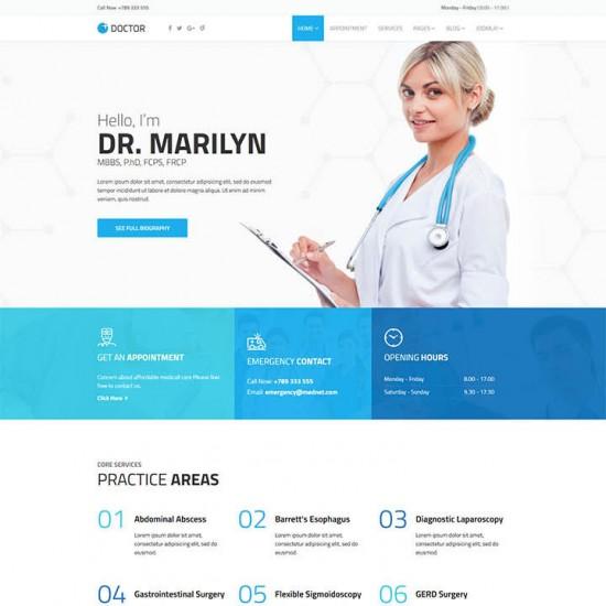 Doctor Joomla Template