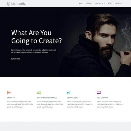 Startup Biz Joomla Template