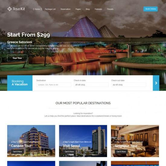 Travel Kit Joomla Template
