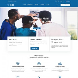 SJ Clinic Joomla Template