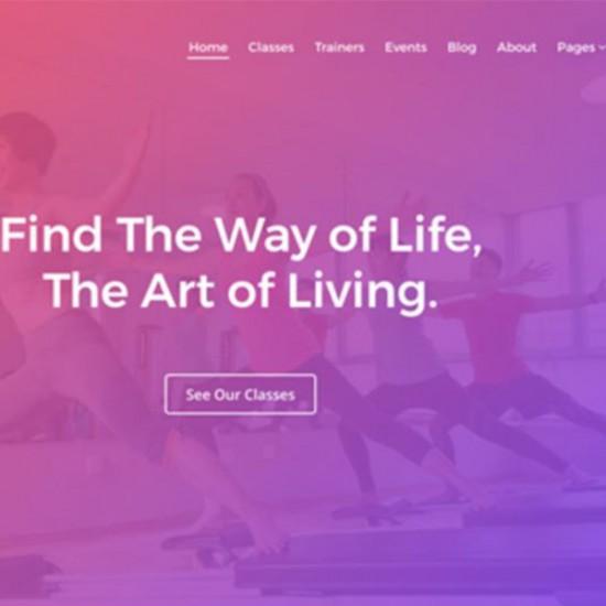 Yoga Joomla Template