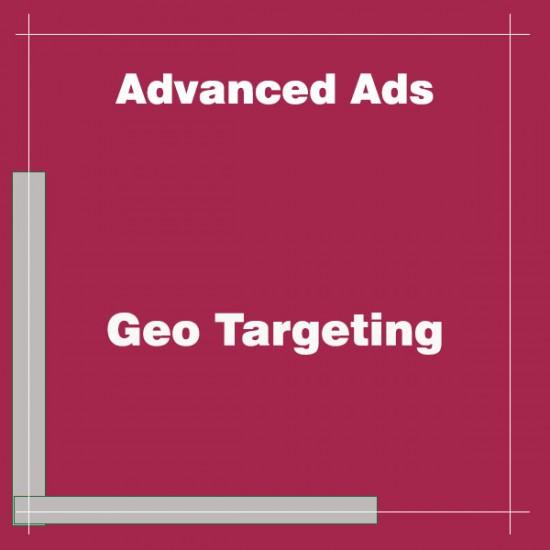 Advanced Ads Geo Targeting