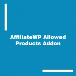 AffiliateWP Allowed Products Addon