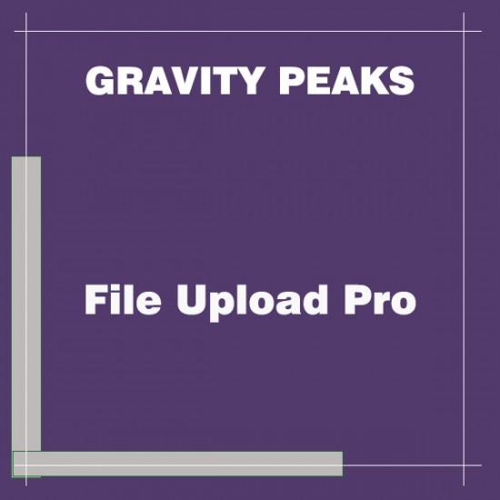 Gravity Forms File Upload Pro