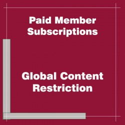 Paid Member Subscriptions Global Content Restriction Addon