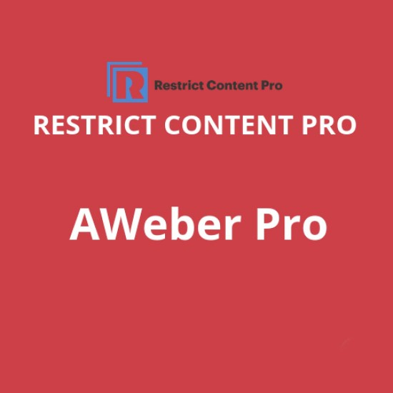 Restrict Content Pro AWeber Pro
