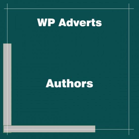 WP Adverts Authors
