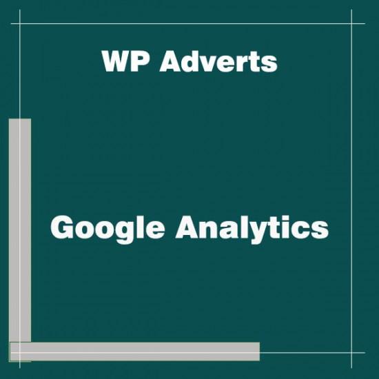 WP Adverts Google Analytics