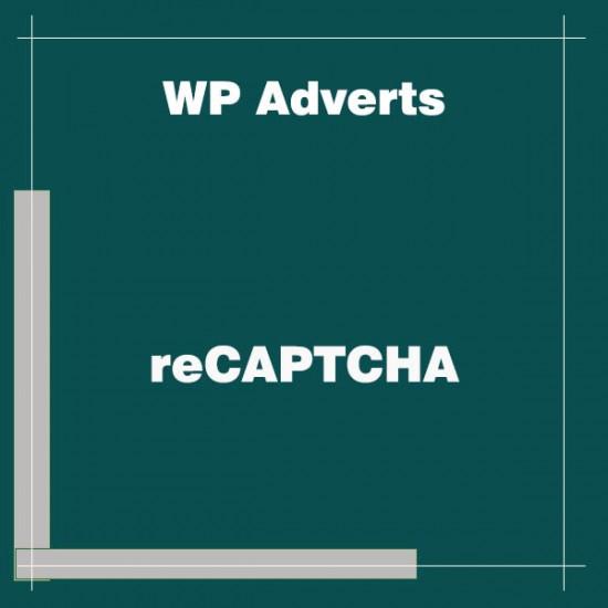WP Adverts reCAPTCHA