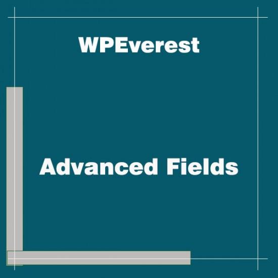 User Registration Advanced Fields