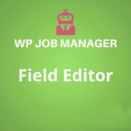WP Job Manager Field Editor