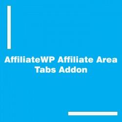 AffiliateWP Affiliate Area Tabs Addon