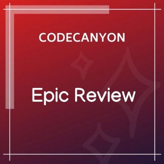 Epic Review WordPress Plugin