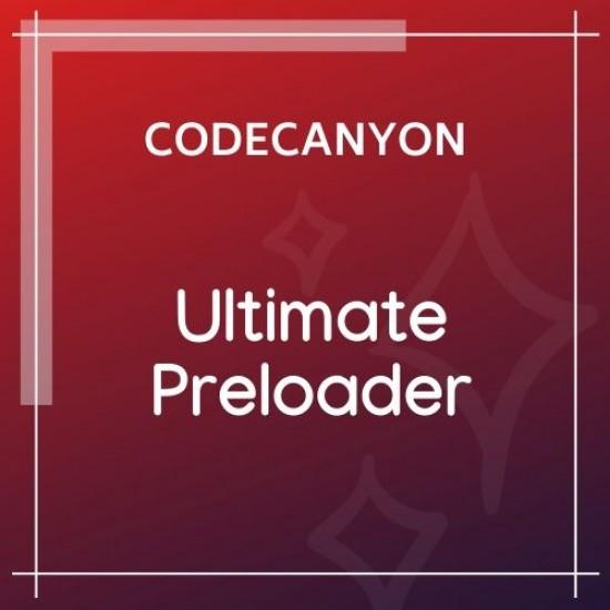 Ultimate WordPress Preloader PRO