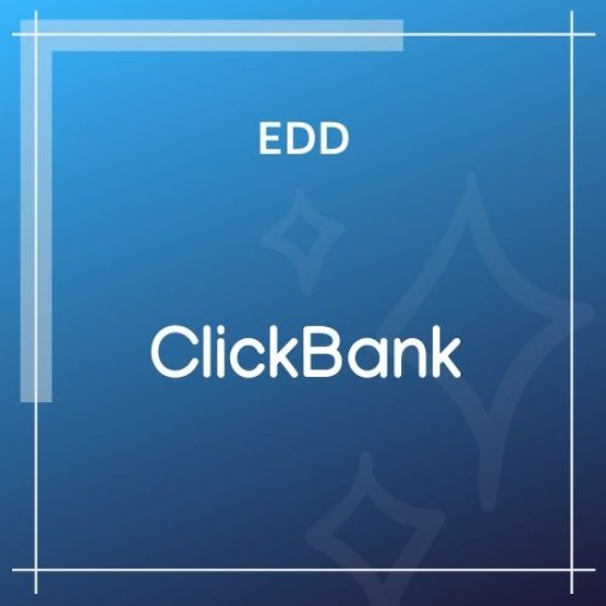 Easy Digital Downloads ClickBank Gateway