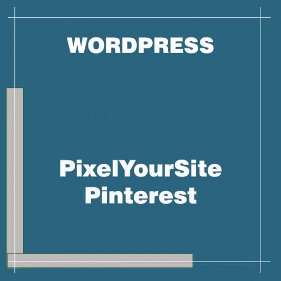 PixelYourSite Pinterest