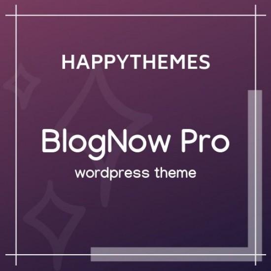 BlogNow Pro HappyThemes