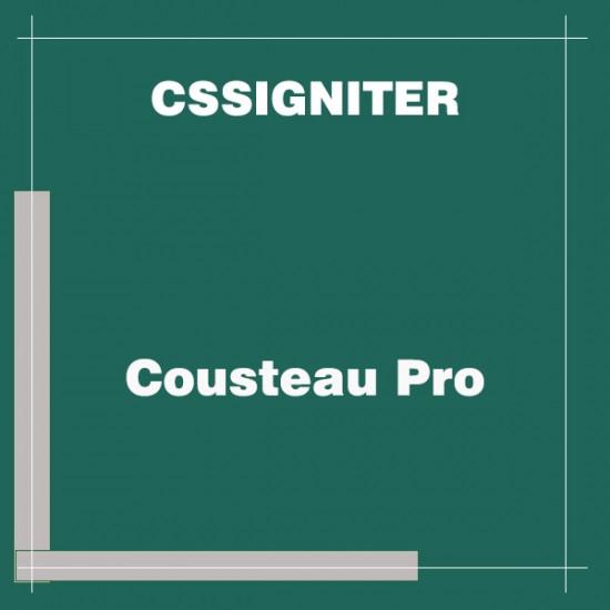 Cousteau Pro Wordpress Theme