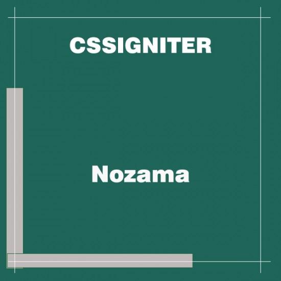CSSIgniter Nozama WordPress Theme