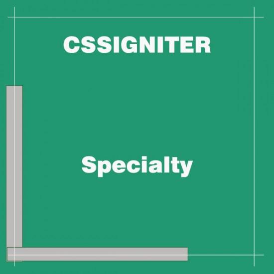 Specialty Wordpress Theme
