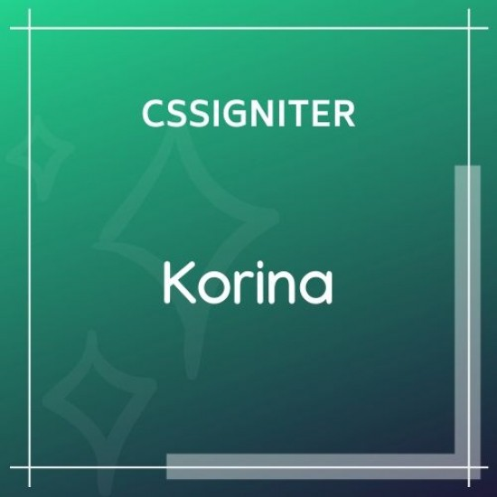 Korina Wordpress Theme