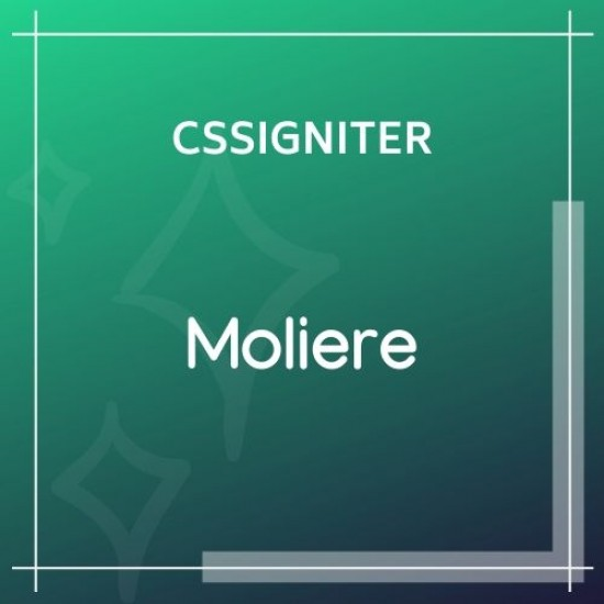 Moliere Wordpress Theme
